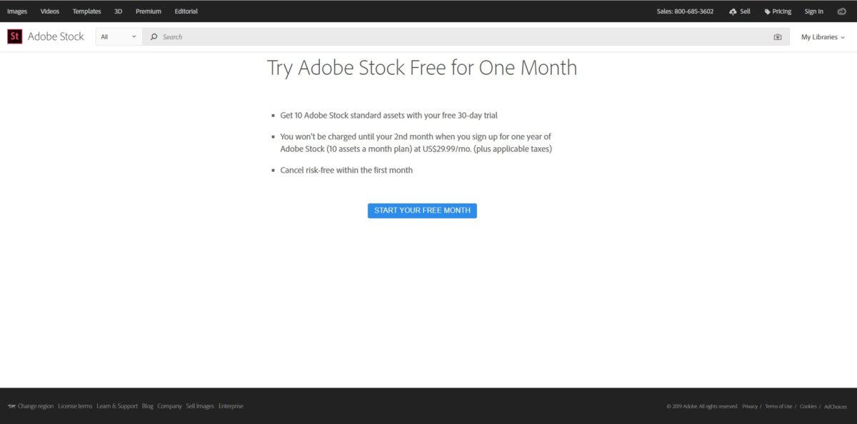 Get 10 Free Adobe Stock Photos